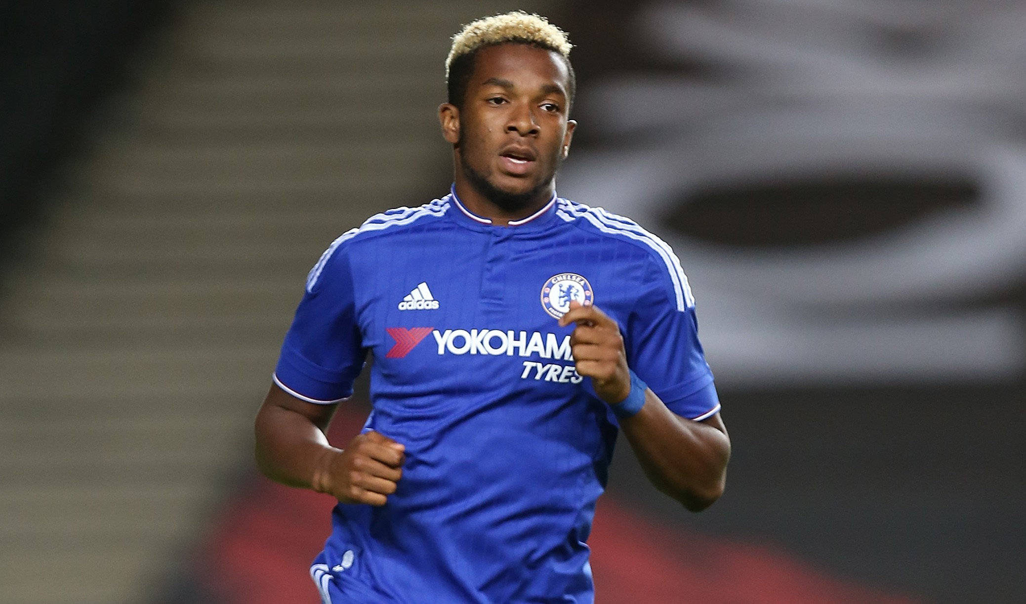 MILTON KEYNES, ENGLAND - AUGUST 03: Kasey Palmer of Chelsea in action during the Pre-Season Friendly match between MK Dons and Chelsea XI at Stadium mk on August 3, 2015 in Milton Keynes, England. (Photo by Pete Norton/Getty Images)