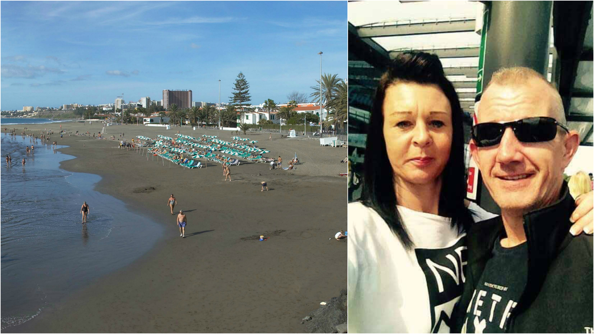 Family forced to sleep on beach after being kicked out of hotel