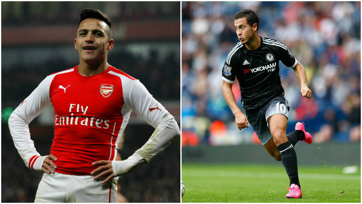 Alexis Sanchez gives more value for money Eden Hazard