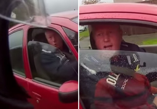 'I'm Ronnie F***ing Pickering!' (Picture: YouTube/Steve Midz)