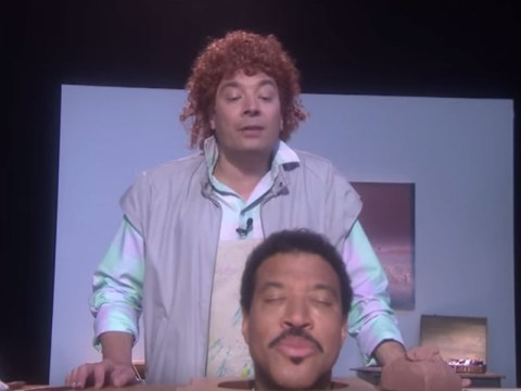 Lionel Richie and Jimmy Fallon just recreated the Hello video on The Tonight Show – and it was epic