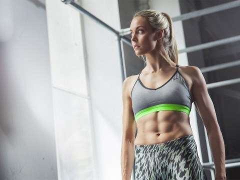Incredible freerunner reveals the secret to her rock hard abs