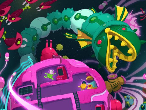 Lovers In A Dangerous Spacetime review – passion for co-op