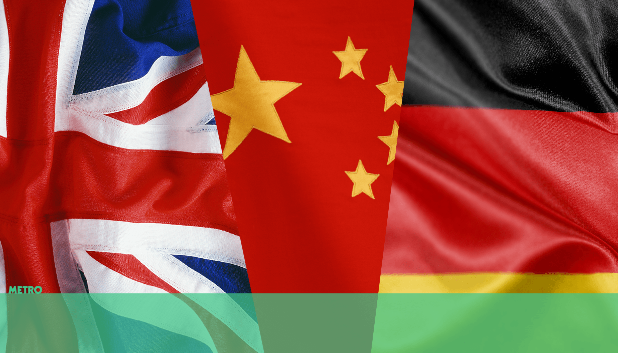 Britain vs Germany: Who does China rate the most? Source: Getty Images Credit: METRO/mylo
