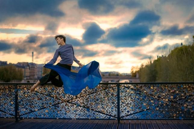 ballet dancer mickael jou takes incredible self portraits mid air