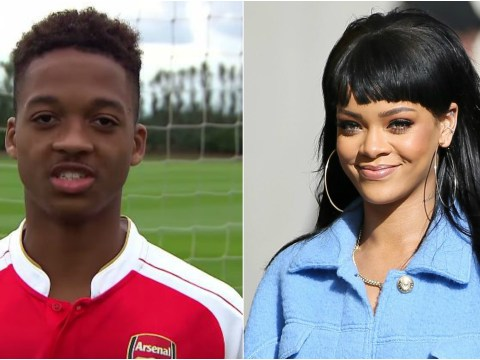 Arsenal youngster Chris Willock says he'd take Rihanna for a Nando's