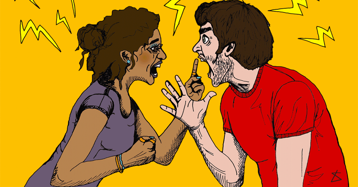 Here's what happens to your body when you argue with your