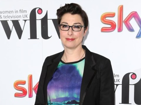Sue Perkins says she might be a gay woman but she has been in love with a man