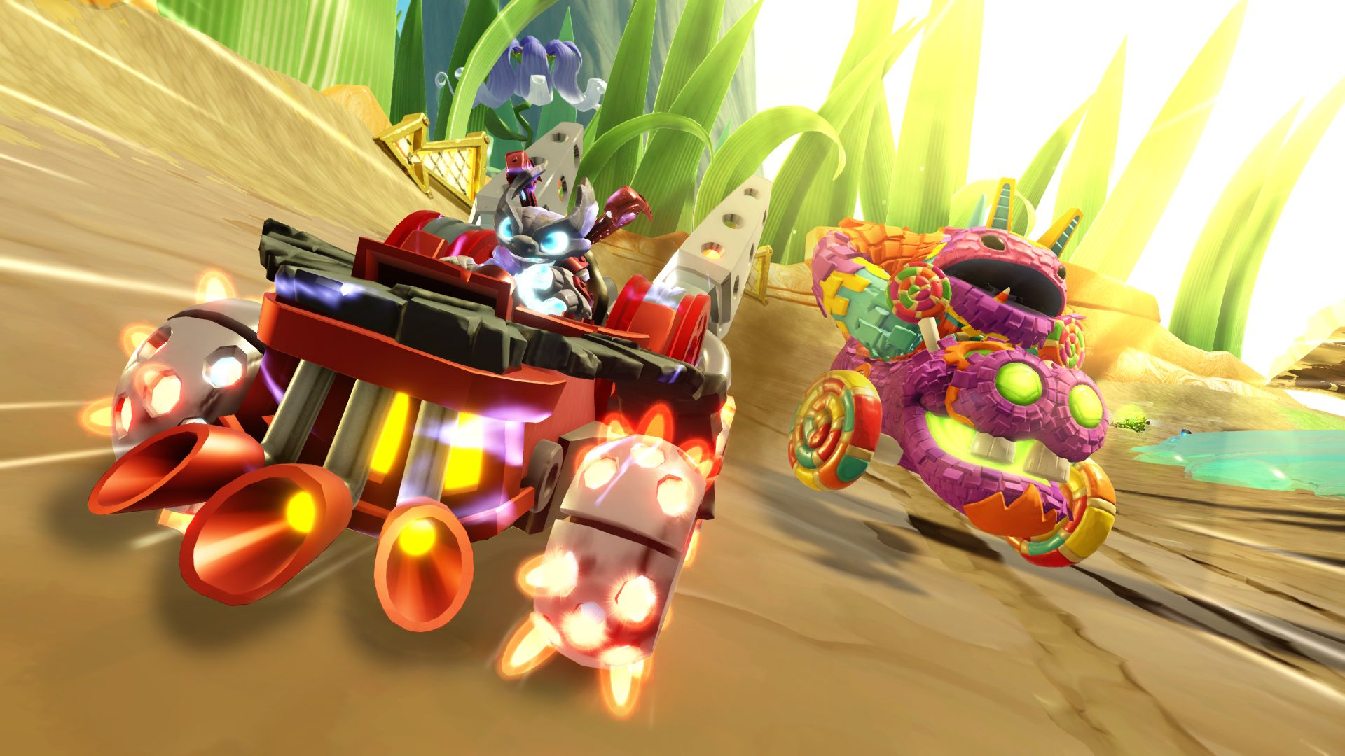 Skylanders SuperChargers (PS4) - the car's the star