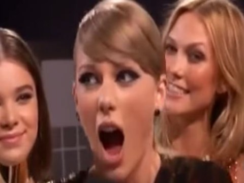 Did Taylor Swift FART as she introduced brand new Wildest Dreams video at the MTV VMAs?