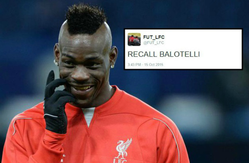 Liverpool fans call for Mario Balotelli return after Danny Ings suffers ACL injury