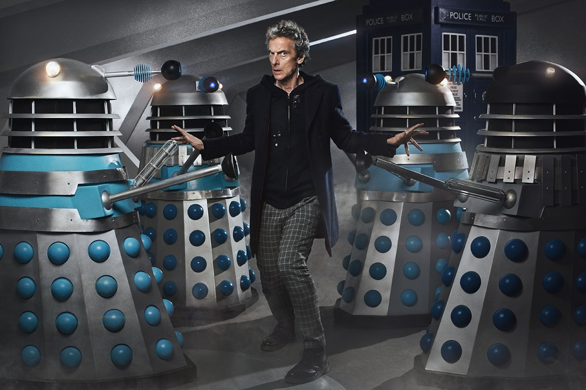 WARNING: Embargoed for publication until 00:00:01 on 22/09/2015 - Programme Name: Doctor Who - TX: 26/09/2015 - Episode: The Witch's Familiar (No. 2) - Picture Shows: ***EMBARGOED UNTIL 22nd SEPT 2015*** Doctor Who (PETER CAPALDI) - (C) BBC - Photographer: Simon Ridgway