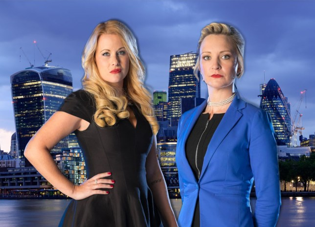 Two contestants had a fight on the Apprentice Credit: Jim Marks/Boundless/BBC / Alamy
