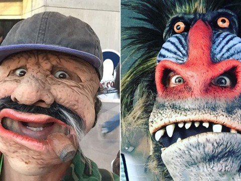 Jared Leto and Mark Ruffalo went to New York Comic-Con in disguise