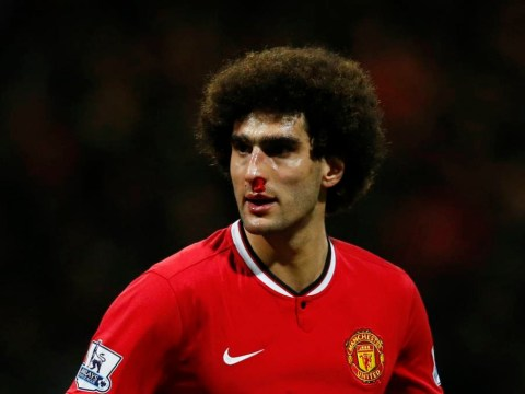 Marouane Fellaini will not have his contract extended beyond 2018 by Manchester United – report