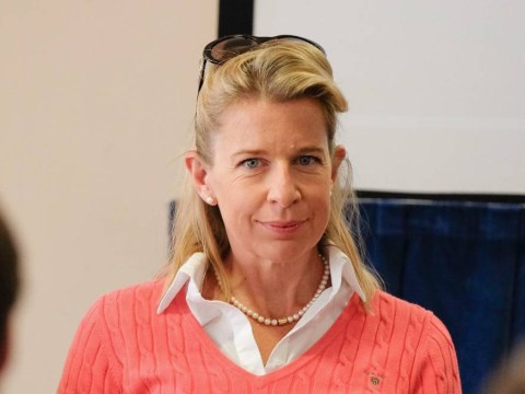 Katie Hopkins describes the moment she collapsed and was 'scraped off the road' with a 'smashed face'