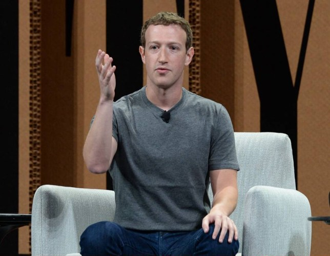 """SAN FRANCISCO, CA - OCTOBER 07: Facebook Founder, Chairman and CEO Mark Zuckerberg speaks onstage during """"Now You See ItThe Future of Virtual Reality"""" at the Vanity Fair New Establishment Summit at Yerba Buena Center for the Arts on October 7, 2015 in San Francisco, California. (Photo by Michael Kovac/Getty Images for Vanity Fair)"""