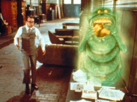 Is Slimer set to make a cameo in the Ghostbusters reboot?