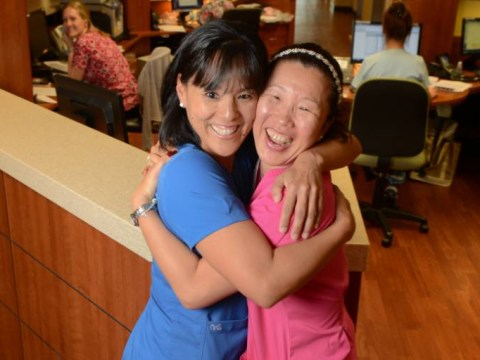 Korean sisters separated for 40 years reunited while working at same hospital
