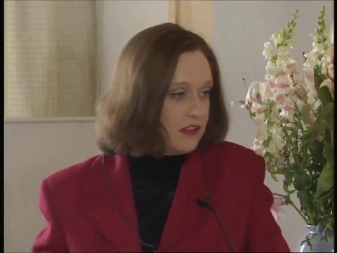 Kathy Burke drops a sneaky hint that she'll be bringing Magda back for the Ab Fab movie