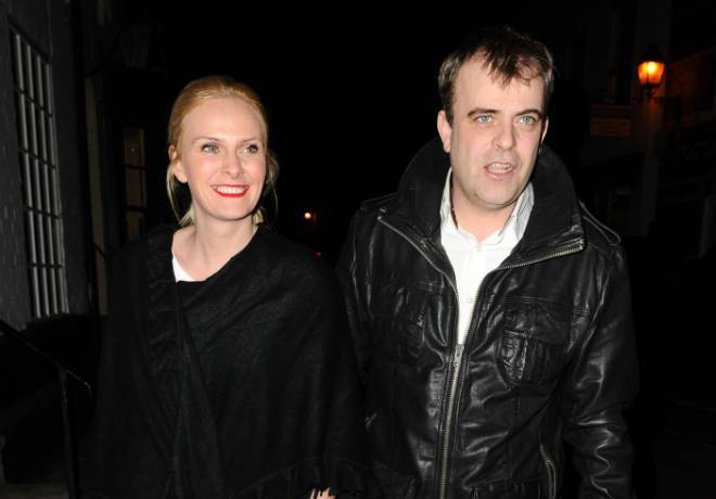 Corrie's Simon Gregson says wife has NOT gone into labour