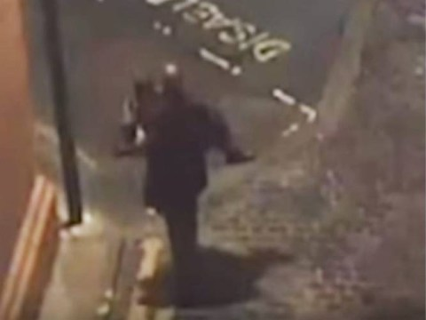 CCTV footage shows 'rapist carrying his victim to scene of attack'