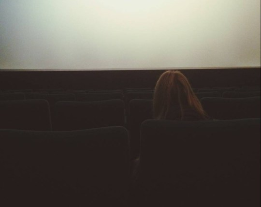 Seriously, why are we so scared of going to the cinema alone