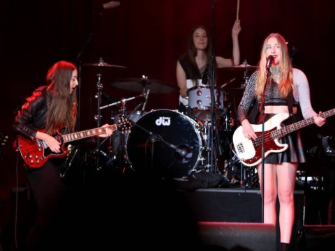 Watch: Haim the band are doing Bar Mitzvah's now
