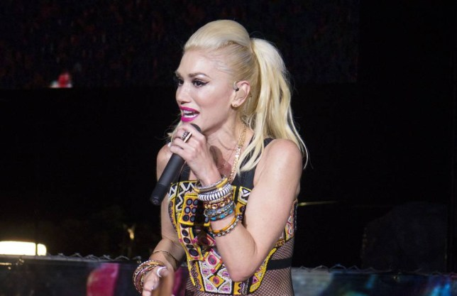 Sept. 18, 2015 - San Diego, CA, USA - September 18, 2015 - San Diego, California, USA - Gwen Stefani of the band No Doubt sings as the band headlined day one of the Kaaboo Festival at the Del Mar Fairgrounds. (Credit Image: © KC Alfred via ZUMA Wire)