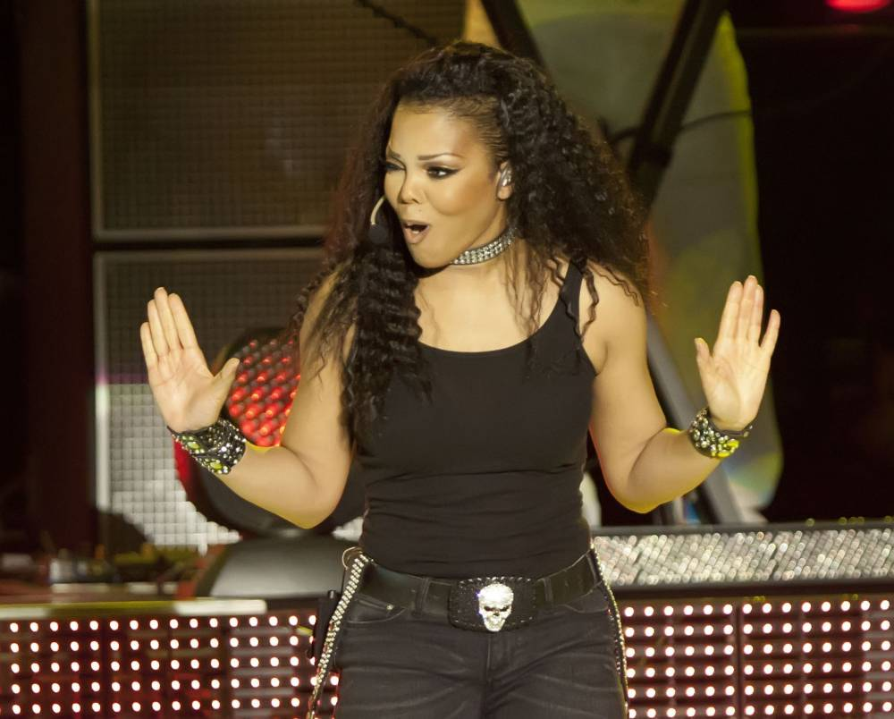 BERLIN, GERMANY - JUNE 24: US singer Janet Jackson performs live during a concert at the tempodrom on June 24, 2011 in Berlin, Germany. (Photo by Jakubaszek/Getty Images)