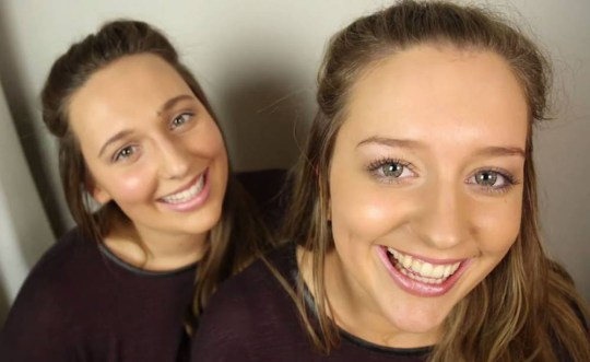 Identical strangers who met while studying in Germany Credit: Facebook/Twin Strangers