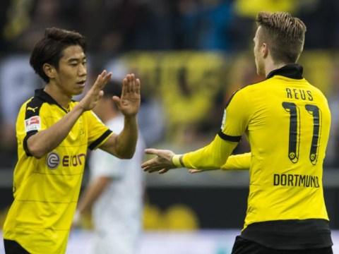 Let's all take a minute to appreciate this Shinji Kagawa goal for Dortmund