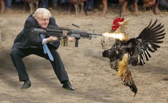 STARTING GUN: Tory leadership starts today.  Ad_186076754