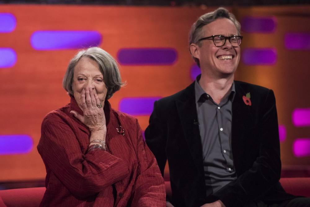 Dame Maggie Smith just scored an A+ for her banter on Graham Norton