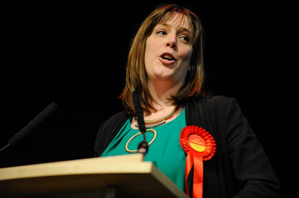 Labour's Jess Phillips is pictured after being announced as the MP for Yardley at the count at the International Conference Centre in Birmingham, England on May 08 2015. The country went to the polls yesterday, May 07, as they voted for who they wish to govern Great Britain in the 2015 General Election. Early exit polls indicated that the Conservative party are on track to winning their second term in office with the Labour party close behind.