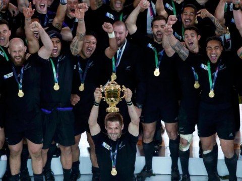 In pictures: New Zealand beat Australia to win Rugby World Cup