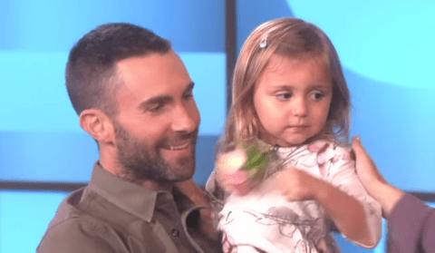 Little girl who cried over Adam Levine getting married wasn't so bothered when she met him
