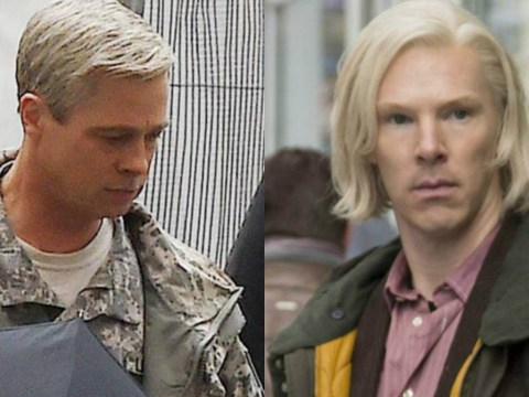 Silver squad: Brad Pitt and other actors who have gone grey for a film