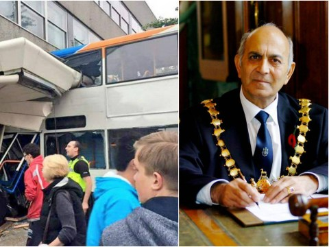 Bus driver in killer supermarket crash was former town mayor, colleagues say