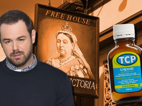 EastEnders bosses are now putting TCP in the Queen Vic pumps to stop Danny Dyer drinking on set