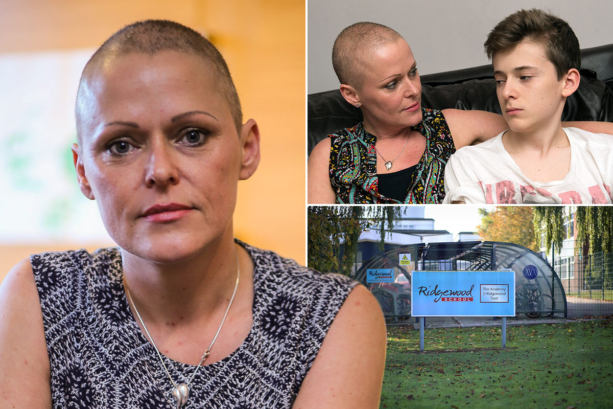 Cancer-sufferer mother told by school her only break in treatment didn't warrant time-off for son