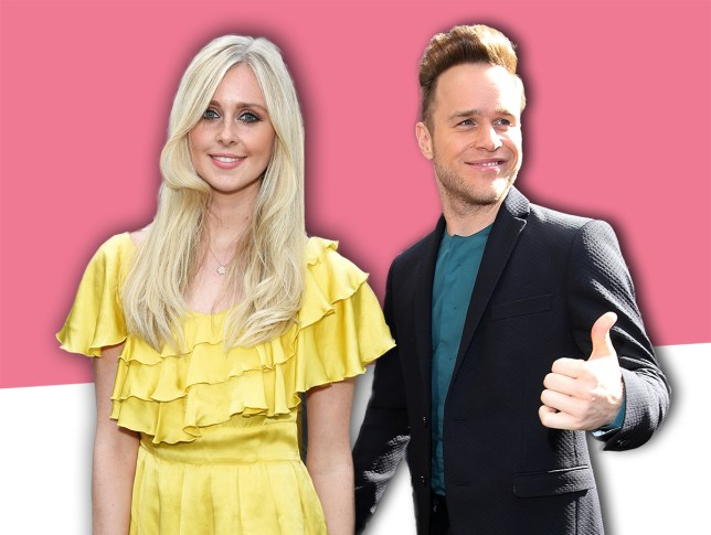 Olly Murs and Diana Vickers comp Credit: Getty