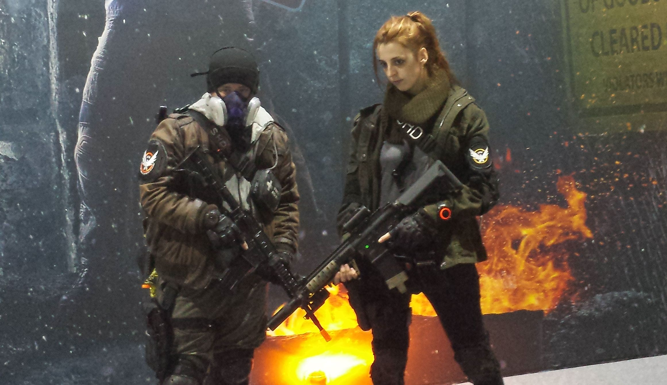 The Division - just one of many shooters at EGX 2015