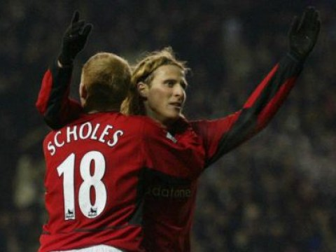 Diego Forlan says Manchester United legend Paul Scholes is his best ever team-mate