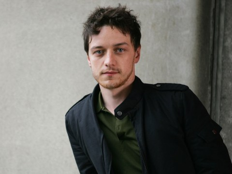 James McAvoy sparks rumours he's got a new girlfriend with Halloween kiss
