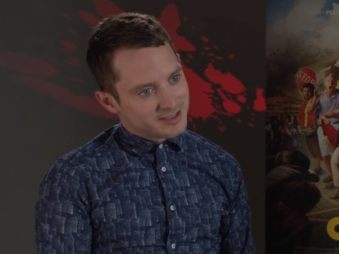 EXCLUSIVE: Elijah Wood tells us which celebrity he'd want on his team in a zombie apocalypse
