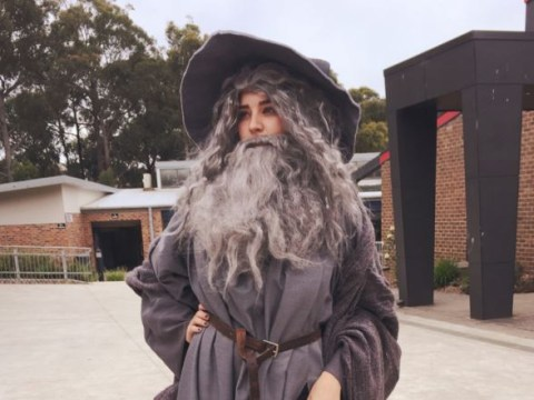 Lord of the Rings fans are going crazy for this 'sexy Gandalf' costume