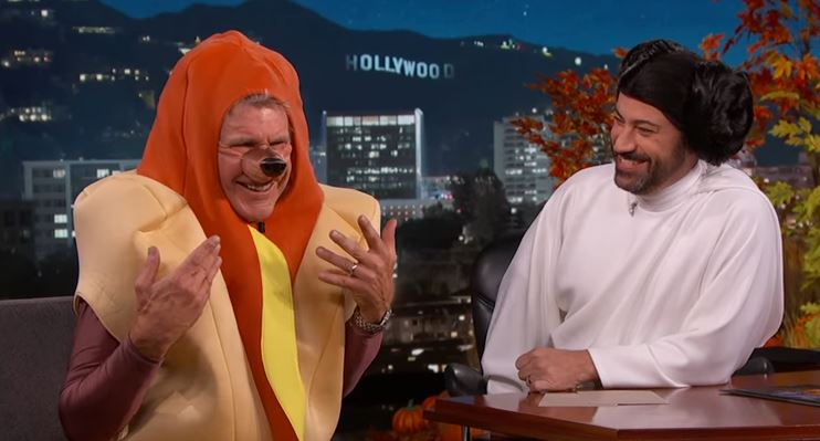 Harrison Ford opened up about his plane crash while dressed as a giant hot dog