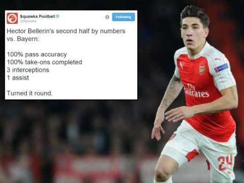 Stats show Arsenal's Hector Bellerin has got incredible character
