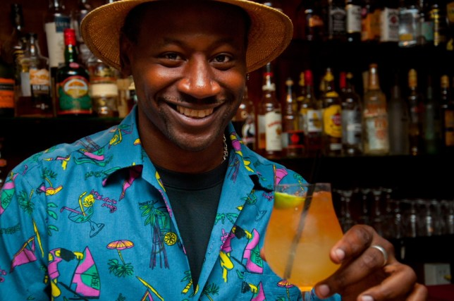 Ian Burrell, 45, really knows everything there is to know about the oak-aged tipple (Picture: Ian Burrell)